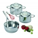Saucepan with lid ATLANTIS