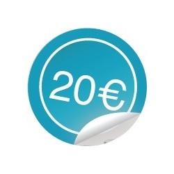 Geschenkbon 20€