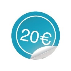 Gift cards 20€