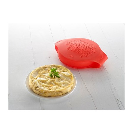 Spanish omelette, silicone mould Lékué