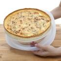 Moule à tarte / quiche 28cm silicone Lékué