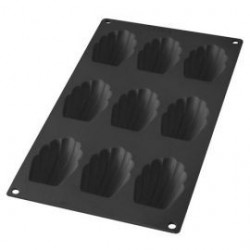 Flexible silicone madeleine mould Lékué