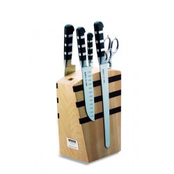 1905|Magnetic knife block 1905 Dick, 5 pieces
