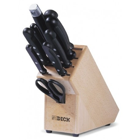 Knife block Dick, 9 pieces