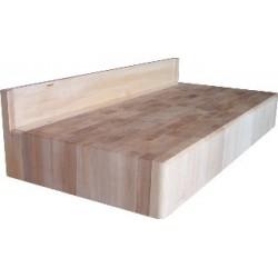 Billot / bloc en bois de boucher sur mesure