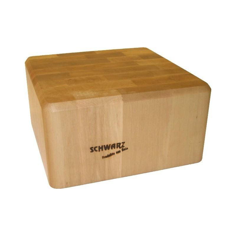 Culin art bloc de boucher billot en bois sur mesure for Planche bois sur mesure