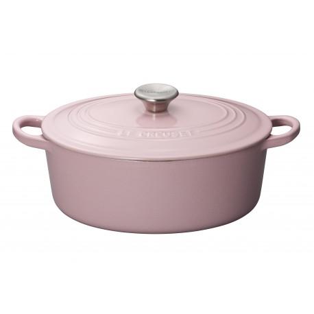 Cocotte ovale 27cm ROSE Chiffon Pink Le Creuset