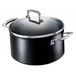 Deep casserole with lid Les Forgées Le Creuset