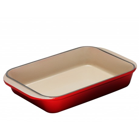 Castiron rectangular dish Tradition Le Creuset