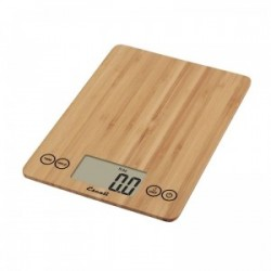 Escali digitale weegschaal 7kg bamboe