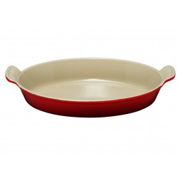 Castiron oval dish Tradition Le Creuset