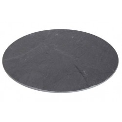 Assiette ronde en ardoise diam 30cm