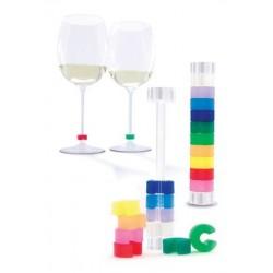 Wijnglas clips Identify van Pulltex