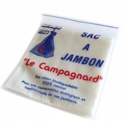 """Sac pour la conservation des jambons secs """" Le Campagnard"""""""