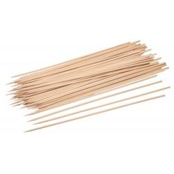 BBQ skewers, wood, 25cm, 200pcs