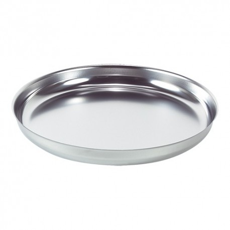 Seafood plate, round, 36cm, stainless steel