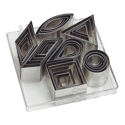 Emporte-pièces, 42pcs, 7 formes