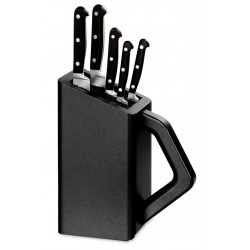Cutlery block nylon Victorinox forged knives