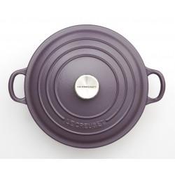 Cast iron round casserole Le Creuset, 28cm, Ametist