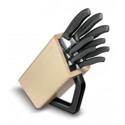 Bloc de couteaux hêtre Victorinox, 8 pièces