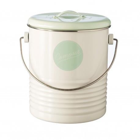 Typhoon Vintage cream compost bin