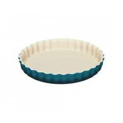Stoneware flluted flan dish Le Creuset