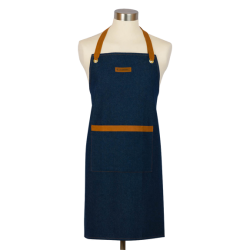 Chef's apron denim Le Creuset