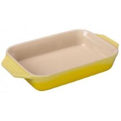 Stoneware dish 26cm Soleil Héritage Le Creuset