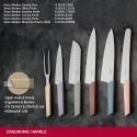 Bloc de 6 couteaux Victorinox Swiss Modern