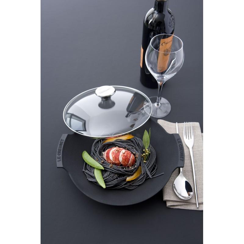 Cast Iron Wok Dish Le Creuset 1p