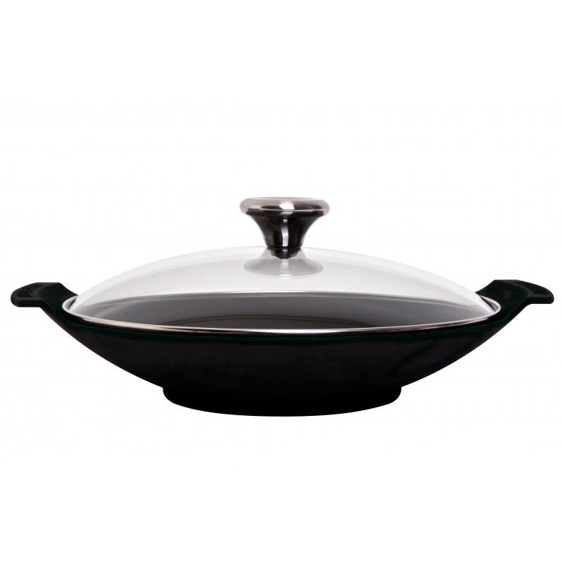Culin-art| Chinese wok dish Le Creuset 1p. 23cm cast iron