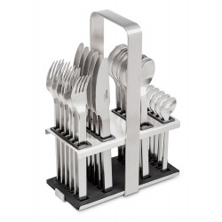 Flatware, 24pcs NEOCOUNTRY Carl Mertens