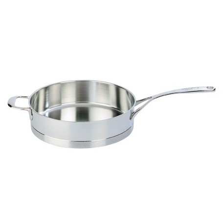 Straight sauté pan without lid ATLANTIS