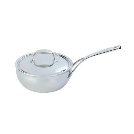 Conic sauté pan with lid ATLANTIS