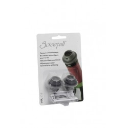 Set of 2 stpperos for wine pump Screwpull WA-137