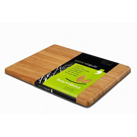 Bamboo cutting board 34x29x1.8cm