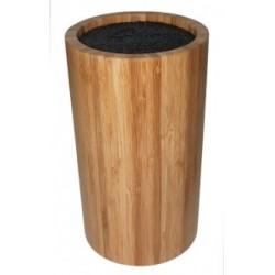 Bloc de couteaux rond Bamboo by Point-Virgule