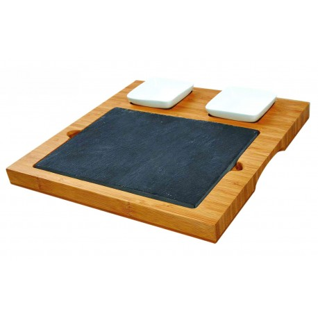 Bamboo serving board by Point-Virgule